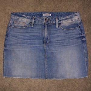 Good American Jean Skirt